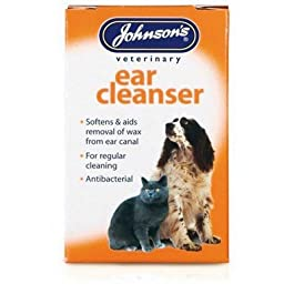 Pet-Essentials Johnsons Ear Cleanser for Dogs & Cats (Eco-Friendly Packaging)