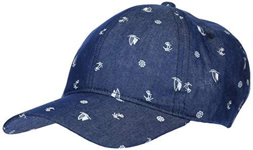 maximo Jungen Cap Kappe, Blau (Jeans-segelboot 63), (Herstellergröße: 53/55)