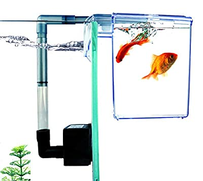 Finnex External Refugium Breeder Hang-On Box, Water Pump