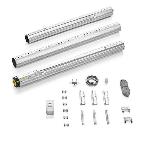 Somfy 2400671 MS 200 Kit de motorizacion mecánico, Motor para persianas, Hasta de 8m2, Compatible con sistema monoblock convencional o encofrado de obra, 90 W, 230 V