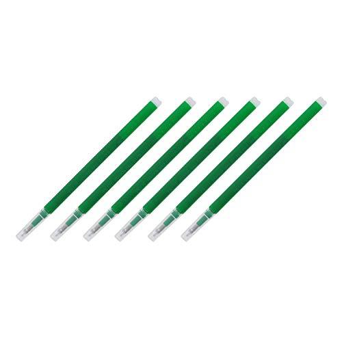 Pilot FriXion 消せるゲルインクペン詰め替え 細字 グリーンインク 6本入り4本パック