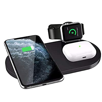 Wonsidary Wireless Charger,3 in 1 Wireless Char...