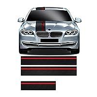 車ス サイドー サイドスカートデカール グ デコレーション , for bmw 5 シリーズ E60 E61 用、ビニール カー フード ボンネット ルーフ リア トリム
