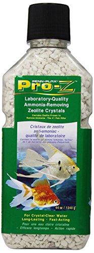 Penn Plax Pro-Z Ammonia-Removing Zeolite Crystals for Aquarium, Medium