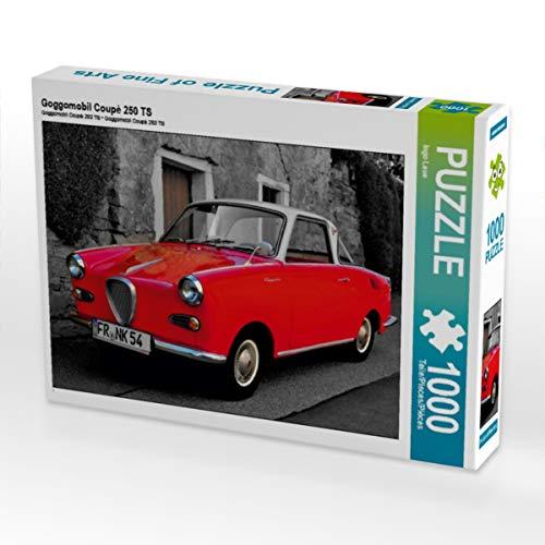 CALVENDO Puzzle Goggomobil Coupè 250 TS 1000 Teile Lege-Größe 64 x 48 cm Foto-Puzzle Bild von Ingo Laue
