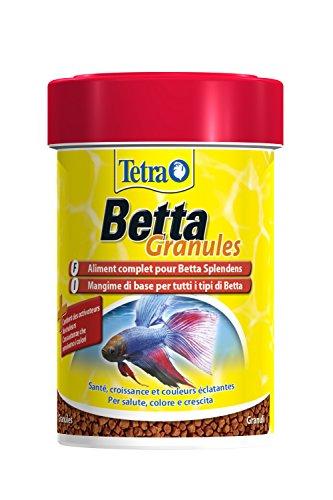 TETRA Betta Granules - Aliment Complet en granulés pour Poisson Combattant - 85ml