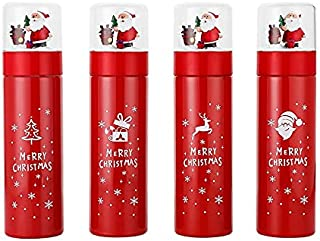 CCLIN Thermos Mug Christmas Gift Water Bottle Santa Elk...
