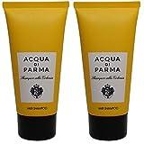 Acqua Di Parma Colonia Hair Shampoo lot of 2 each 2.5oz Bottles. Total of 5oz