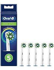 Oral-B CrossAction opzetborstels met CleanMaximiser-borstelharen voor volledige mondreiniging