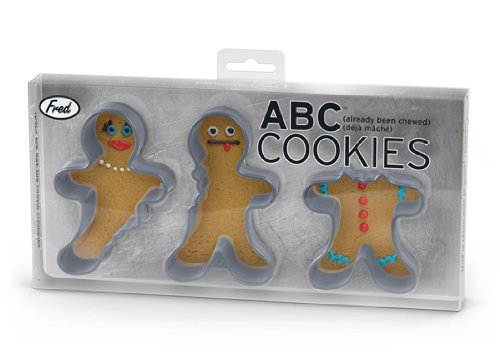 ABC (Already Been Chewed) Cookie Cutters