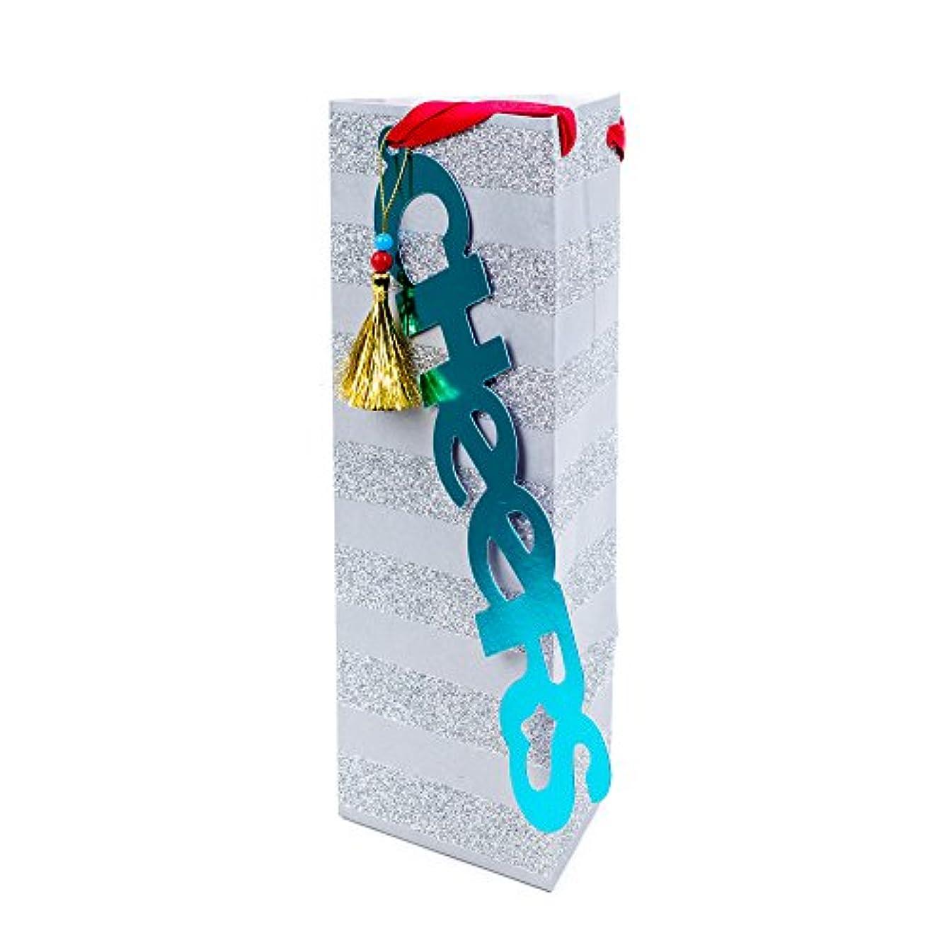 Hallmark Signature Holiday Bottle Gift Bag (Cheers)