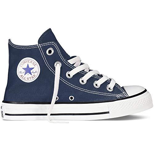 Converse Chuck Taylor Allstar Kinder Unisex Canvas Sportschuhe mit 7kmh Aufkleber Blau 15046 32