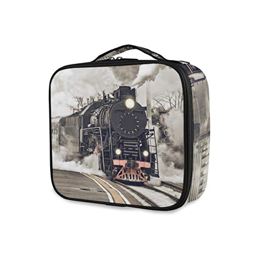 Opbergtassen, toilettas, draagbare make-uptas, reis, stoommachine, stille trein rookgereedschap, cosmetische trein koffer