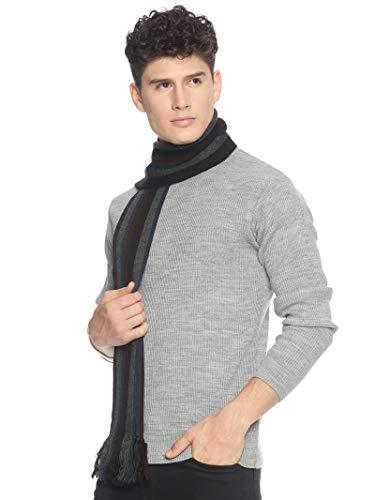 513 Men Acrylic Woolen Casual Winter Wear Verticle Striped Knitted Warm Premium Mufflers Multicolor 2 41fARKfpDzL. SL500