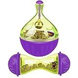 Legendog Balle de nourriture pour chat - Jouet pour animal domestique - Balle d'alimentation lente en forme de souris - Balle à friandises pour chat/chien - Balle d'exercice pour l'intelligence
