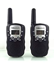 Walkie Talkies for Kids, Best Gifts Toys with Flashlight for Boys & Girls to Outside Adventure, Outdoor Game, Hiking, Camping(2 Pack) (dark)