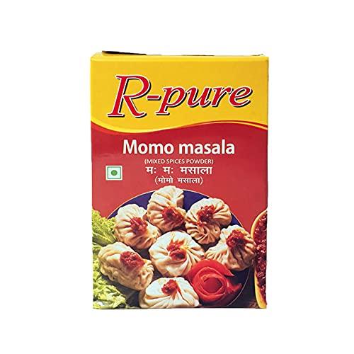 モモマサラ パウダー 100g ネパールの餃子の素 (ネコポス対応/箱を少し折って出荷) インド産