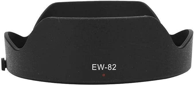 Vbestlife Camera Lens Hood  EW-82 Quality Portable Plastic Camera Lens...