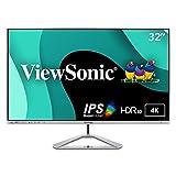 ViewSonic VX3276-4K-MHD 32 Inch Frameless 4K...