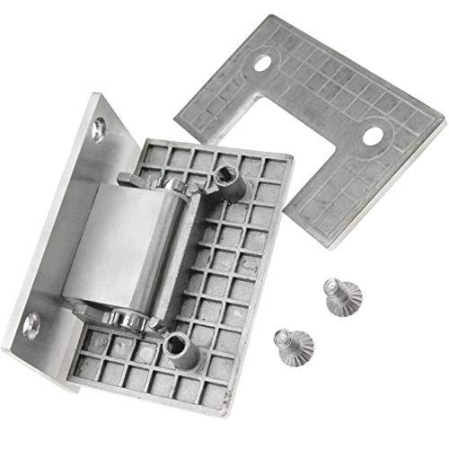 Betaling douche deur scharnier klem beugel frameloze muur naar glas douche deur scharnier muur gemonteerd 8-12mm