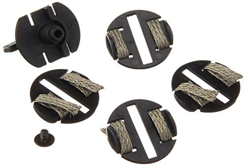 Scalextric- Guide Blades Braid Plates x 4 And Screw Pack, C8329