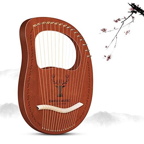 10/12/16 Zeichenfolge Harfe, Hölzern Streichinstrumente, Mahagoni Elegante Melodie Angebrachte Tasche, Stimmschlüssel, Ersatzschnur Für Anfänger, Erwachsene, Geschenk ( Color : #I )