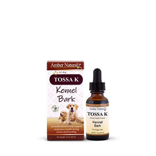 AMBER NATURALZ - TOSSA K - Kennel Bark - for Dogz - 1 Ounce