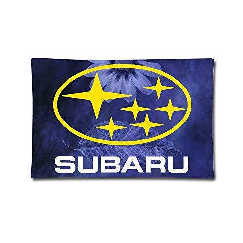 Waterproof Subaru Logo Square Throw Pillow Case Kissenbezüge (35cmx50cm)