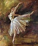 HNZKly Französisch Edgar Degas Poster Balletttänzer