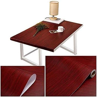 A1 Decor Wooden Film Wallpaper Self Adhesive Wooden Furniture Vinyl Film Sticker PVC Film Wallpaper Wooden Texture for-Kitche