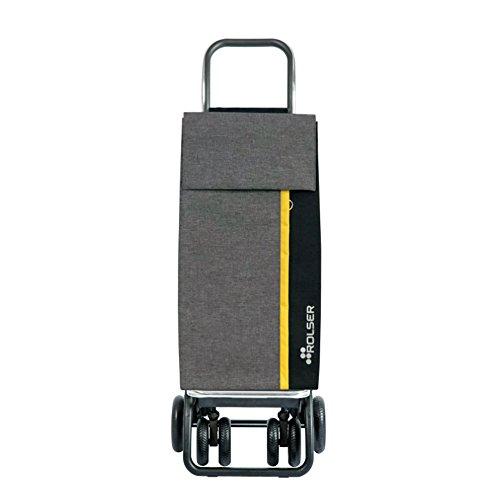 Rolser Kangaroo Kan002/Gy Einkaufstrolley, Grau, 390 x 310 x 1050 mm