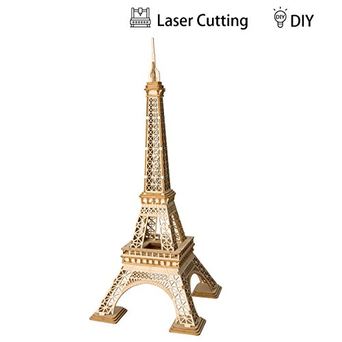 Rolife Rompecabezas Madera 3D Modelo Kits artesanía