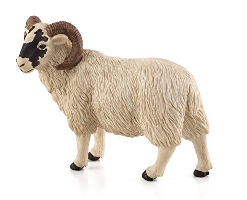 MOJO Black Faced Sheep (Ram) Toy Figure