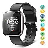 Orologio Fitness Tracker Smartwatch Cardiofrequenzimetro da Polso Impermeabile...