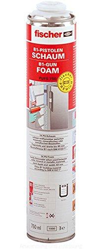 FISCHER 097968 - Espuma de poliuretano B1 resistente al fuego para pistola