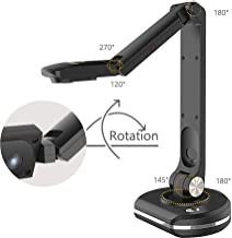 JOYUSING Document Camera V500-S, with Zoom | Auto-Focus and Dynamic Capturing | Flexible & Durable Arms | Suitable for Home