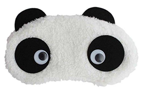 24x7eMall Panda Eye pad, Eye mask Cartoon Super Soft & Comfortable For Sleeping (Panda Eyes)