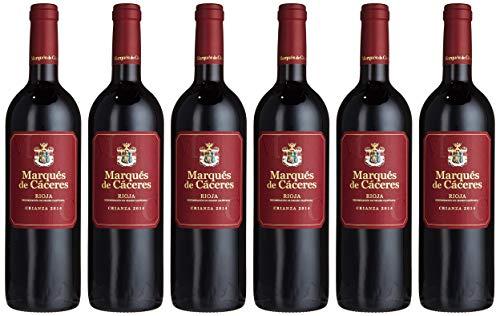 Marques de Caceres Marqués Rioja Crianza D.O.Ca.  2014/2015 trocken (6 x 0.75 l)