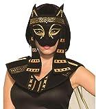 Forum Novelties Mystical Egyptian Creature Costume Mask, Bastet - Female, Standard size