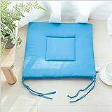 Sitzkissen Stuhlkissen für Indoor Outdoor Garten-Stuhl-Sitzkissen aus 100% Polyeste Füllung mit Anti-Rutsch-Riemen leicht und robust for Innen Außen Terrasse Küche Bürostühle für Gartenstuhl Küche Ess