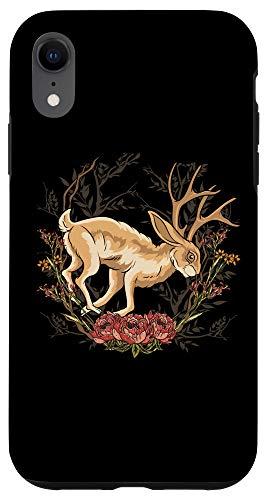 iPhone XR Cryptozoology Cool Art Spirit Animal Jackalope Case