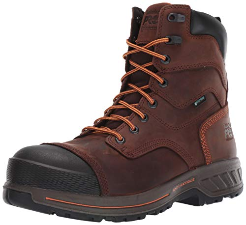 Timberland PRO Men's Helix HD 8' Composite Toe Wateproof Insulated Industrial Boot, Brown Walnut, 9...