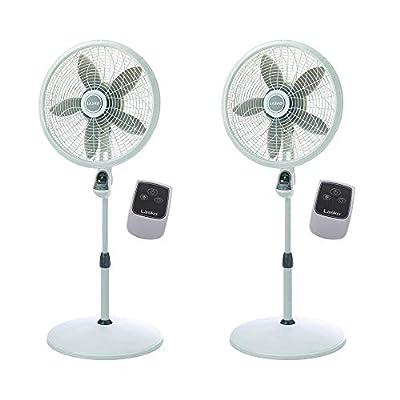Lasko 1850 18-Inch Remote Pedestal Fan