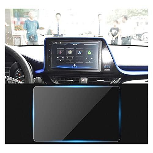 Zhbqcmou Coche GPS Radio Estéreo Sistema de navegación Multimedia Cubierta Película de Protector de Pantalla de Vidrio Templado para Toyota C-HR 2016-2018 hnzhb
