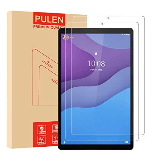 [2 Unidades] PULEN Protector de pantalla para Lenovo Tab M10 HD (2nd Gen) [Sin burbujas] [Anti-huella digital] [Anti- Arañazos] [HD] Cristal Templado Vidrio Templado
