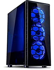 BEASTCOM Q1 | Home 'n Office PC | Ordenador de sobremesa | Intel i5 Quad Core 4x 3.60Ghz | 16GB RAM | 256GB SSD + 1TB | Intel 4K Gràficos | HDMI | USB 3.1 | WiFi |Windows 10 Pro |Office 2019