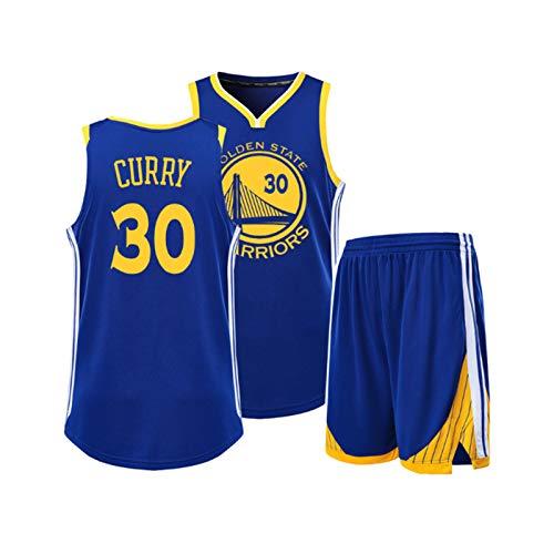 Stephen Curry Jersey Set - Golden State Warriors Trikots Anzüge, Chef Curry Sport Weste und Shorts, Geeignet für den täglichen Verschleiß und Basketball-Spiele, Retro Swingman Ausg XL