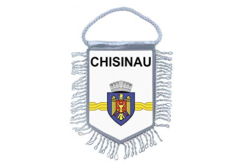 Akachafactory Wimpel Mini Flagge Fahne flaggen miniflagge Chisinau moldawien
