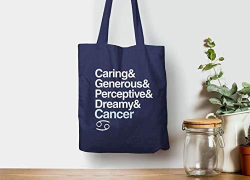 Sternzeichen Krebs Geschenk für Juli Geburtstag Geschenk für Krebs Sternzeichen Tote Bag Sternzeichen Geschenkidee Krebs Liste Astrologie Zubehör