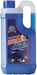 Brumol Desengrasante Azul - Paquete de 6 x 2000 ml - Total: